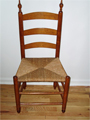 All kinds of antique chairs - dining room, high chairs, windsor, ladderback and more.